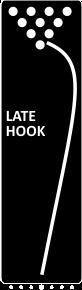 late hook